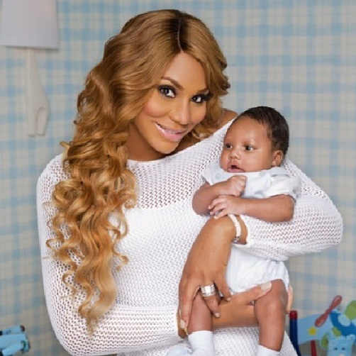 FINALLY TAMAR BRAXTON'S SON LOGAN