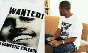 Frank Ocean's Chris Brown Wanted Shirt