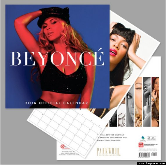 Beyonce Hasn't Even Released A New Single And She Already Has Released A New 2014 Calendar